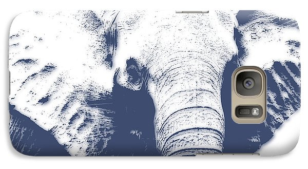 Elephant 4 Galaxy Case by Joe Hamilton