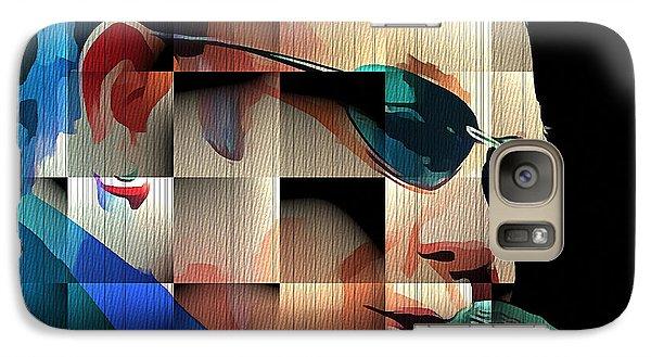 Elton John In Cubes 1 Galaxy Case by Yury Malkov