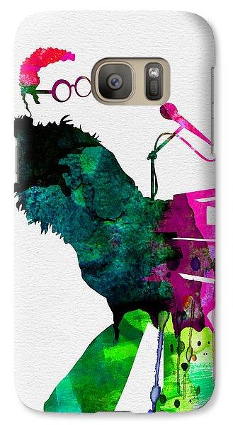 Elton Watercolor Galaxy Case by Naxart Studio
