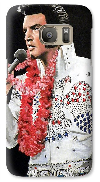 Elvis Galaxy S7 Case by Tom Carlton