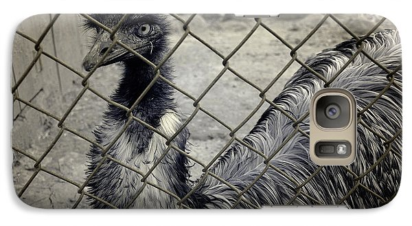 Emu At The Zoo Galaxy S7 Case by Luke Moore