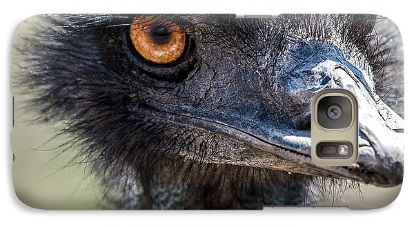 Emu Eyes Galaxy S7 Case by Paul Freidlund