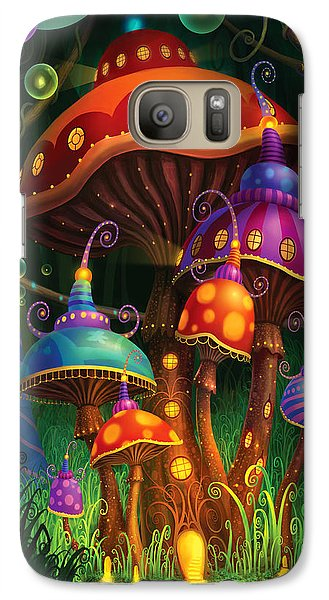 Enchanted Evening Galaxy Case by Philip Straub