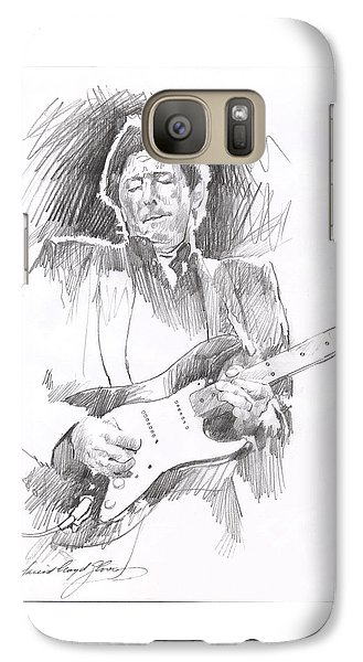 Eric Clapton Blackie Galaxy S7 Case by David Lloyd Glover