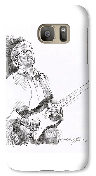 Eric Clapton Joy Galaxy S7 Case by David Lloyd Glover