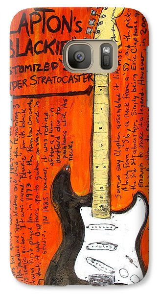 Eric Claptons Stratocaster Blackie Galaxy Case by Karl Haglund