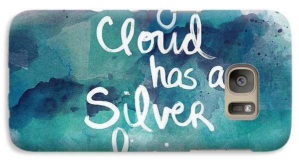 Every Cloud Galaxy Case by Linda Woods