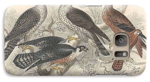 Falcons Galaxy Case by Oliver Goldsmith