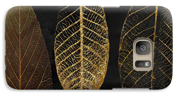 Fallen Gold II Autumn Leaves Galaxy S7 Case by Mindy Sommers