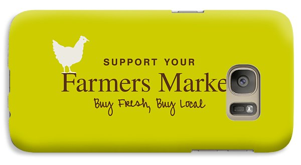 Farmers Market Galaxy Case by Nancy Ingersoll