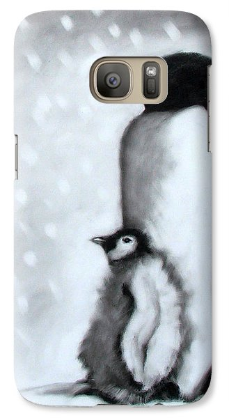 Father And Son Galaxy Case by Paul Powis