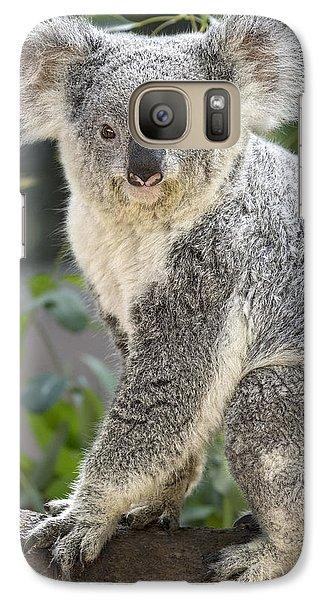 Female Koala Galaxy S7 Case by Jamie Pham