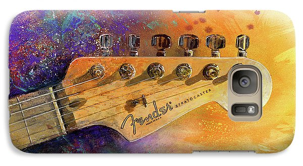 Fender Head Galaxy S7 Case by Andrew King