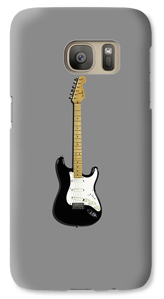 Fender Stratocaster Blackie 77 Galaxy S7 Case by Mark Rogan
