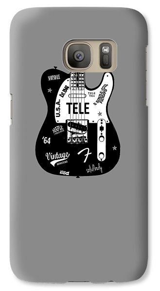 Fender Telecaster 64 Galaxy S7 Case by Mark Rogan