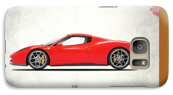 Ferrari 458 Italia Galaxy S7 Case by Mark Rogan