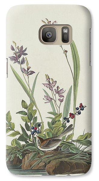 Field Sparrow Galaxy S7 Case by John James Audubon