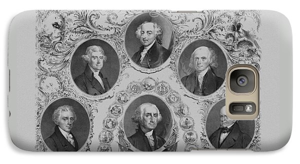 First Six U.s. Presidents Galaxy Case by War Is Hell Store