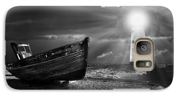 Fishing Boat Graveyard 7 Galaxy S7 Case by Meirion Matthias