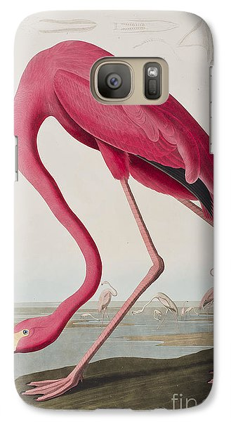 Flamingo Galaxy S7 Case by John James Audubon