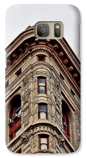 Flatiron Building Detail Galaxy S7 Case by Sandy Taylor
