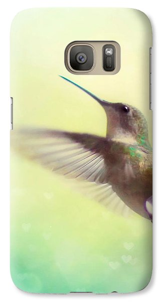 Flight Of Fancy - Square Version Galaxy Case by Amy Tyler