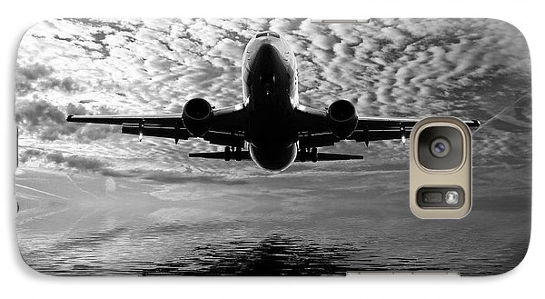 Flight Path 2 Galaxy S7 Case by Sharon Lisa Clarke