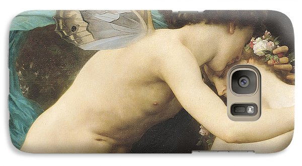 Flora And Zephyr Galaxy S7 Case by William Adolphe Bouguereau
