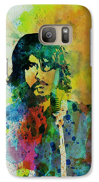 Foo Fighters Galaxy S7 Case by Naxart Studio