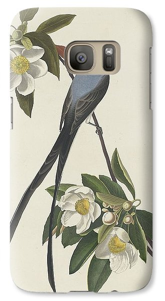Forked-tail Flycatcher Galaxy S7 Case by John James Audubon
