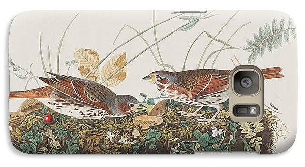 Fox Sparrow Galaxy S7 Case by John James Audubon