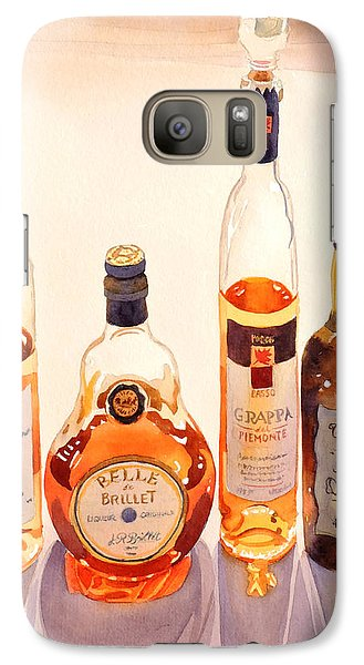 French Liqueurs Galaxy S7 Case by Mary Helmreich