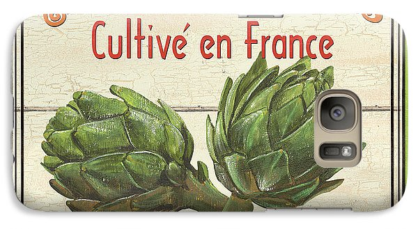 French Vegetable Sign 2 Galaxy Case by Debbie DeWitt