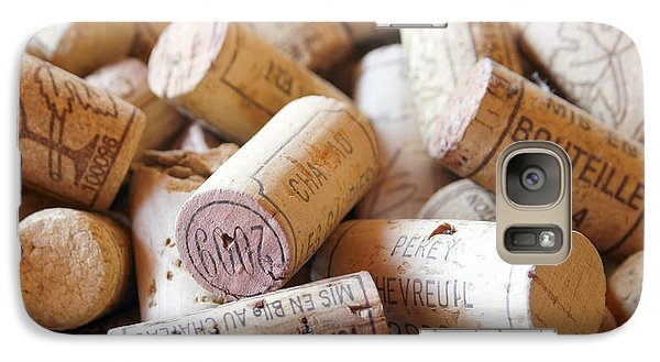 French Wine Corks Galaxy Case by Georgia Fowler