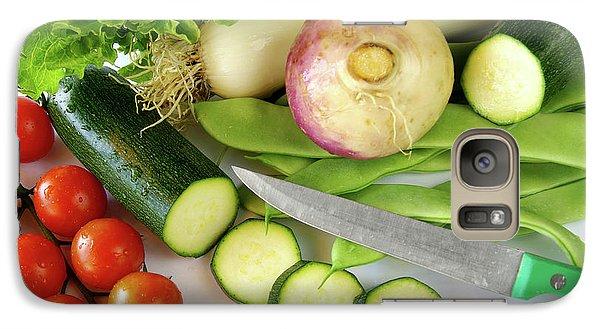 Fresh Vegetables Galaxy Case by Carlos Caetano