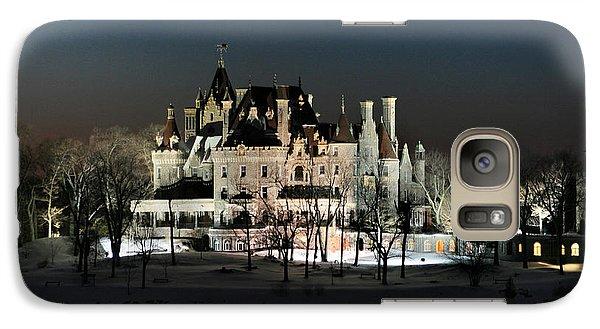 Frozen Boldt Castle Galaxy Case by Lori Deiter
