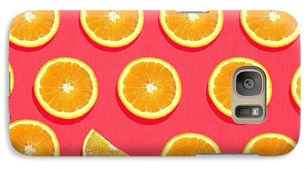 Fruit 2 Galaxy Case by Mark Ashkenazi
