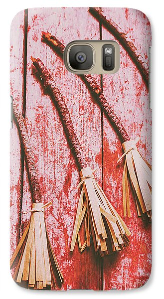 Gathering Of Evil Witches Still Life Galaxy S7 Case by Jorgo Photography - Wall Art Gallery