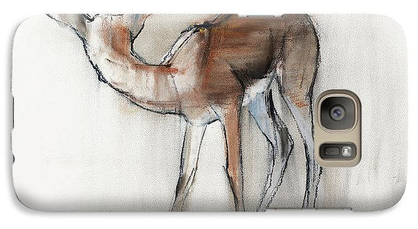 Gazelle Fawn  Arabian Gazelle Galaxy S7 Case by Mark Adlington