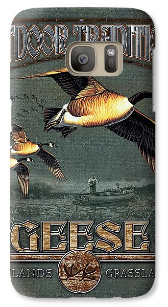 Geese Traditions Galaxy Case by JQ Licensing