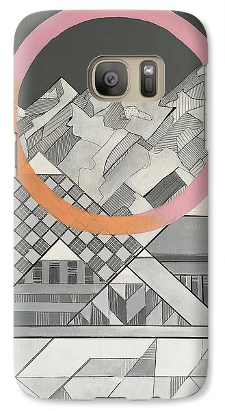 Geometry's Mountain Galaxy S7 Case by Sara Cannon