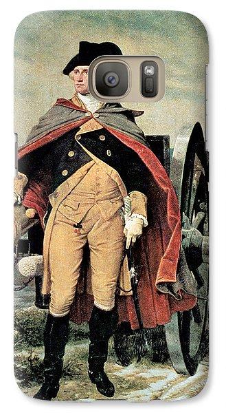 George Washington At Dorchester Heights Galaxy S7 Case by Emanuel Gottlieb Leutze