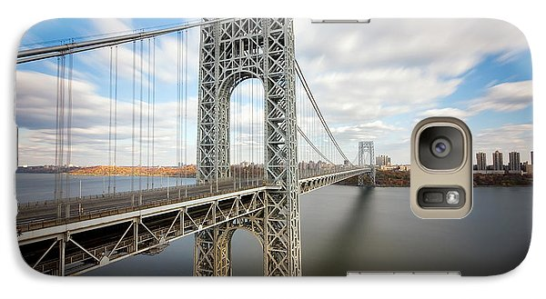 George Washington Bridge Galaxy Case by Greg Gard