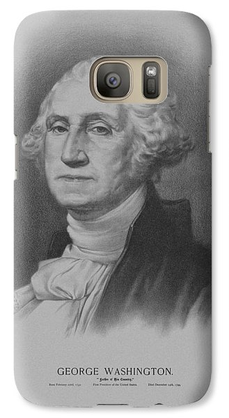 George Washington Galaxy S7 Case by War Is Hell Store