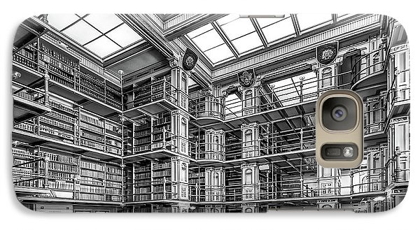 Georgetown University Riggs Library Galaxy Case by University Icons