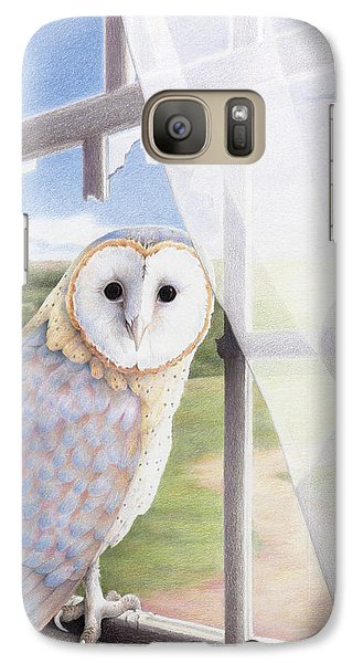 Ghost In The Attic Galaxy S7 Case by Amy S Turner