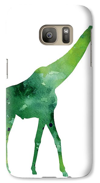 Giraffe African Animals Gift Idea Galaxy Case by Joanna Szmerdt