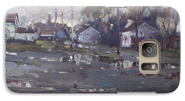 Gloomy And Rainy Day By Hyde Park Galaxy S7 Case by Ylli Haruni