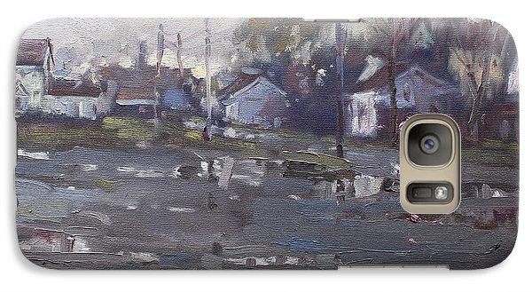 Gloomy And Rainy Day By Hyde Park Galaxy Case by Ylli Haruni