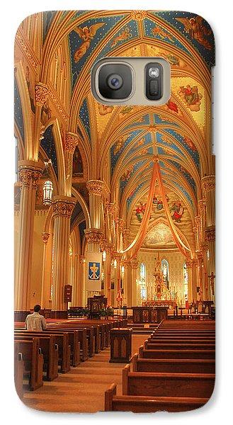 God Do You Hear Me Galaxy S7 Case by Ken Smith
